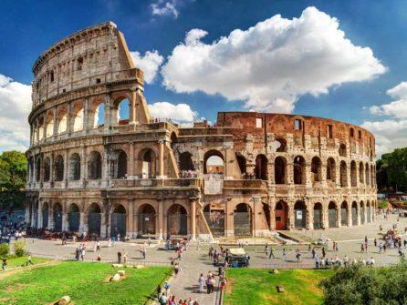Колизей, Палатинский холм, Римский и Императорские форумы