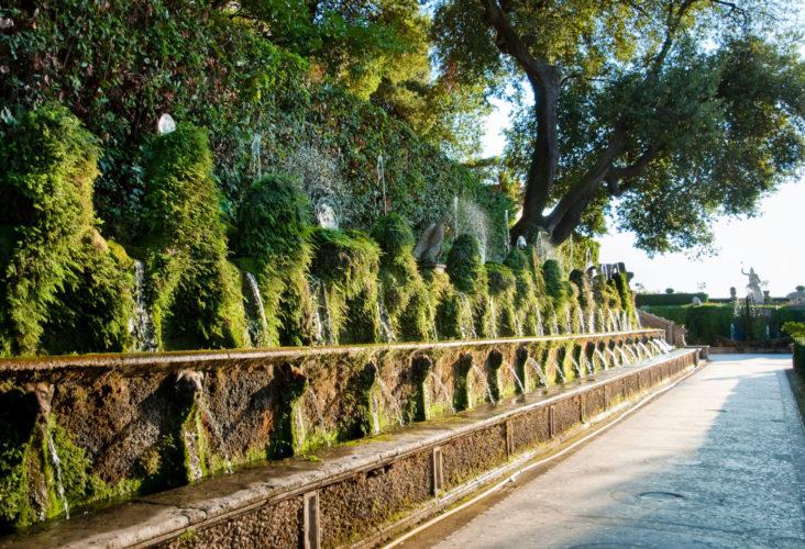 Фото Экскурсия в Тиволи. Вилла Адриана и вилла д`Эсте.