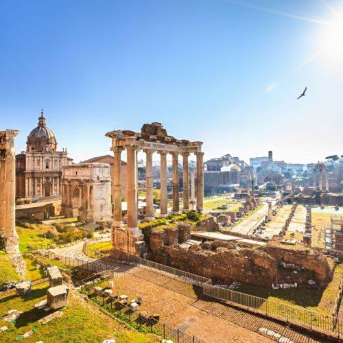 Исторические факты о Форуме Цезаря