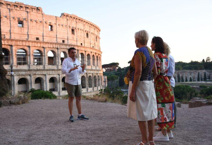 Фото Колизей, Палатинский холм, Римский и Императорские форумы