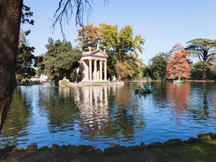 Вілла Боргезе – третій за величиною громадський парк