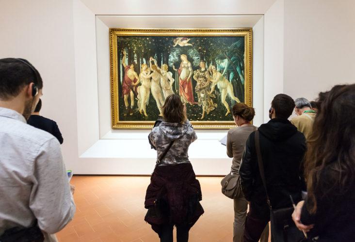 Фото Уффици и галерея Академии. Музеи Флоренции