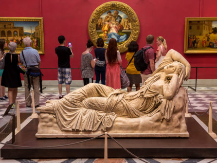 Уффици и галерея Академии. Музеи Флоренции