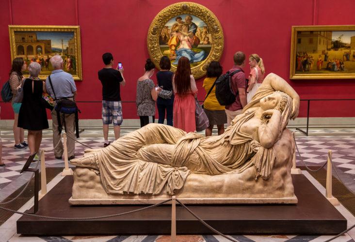 Фото Уффіці і галерея Академії. Музеї Флоренції