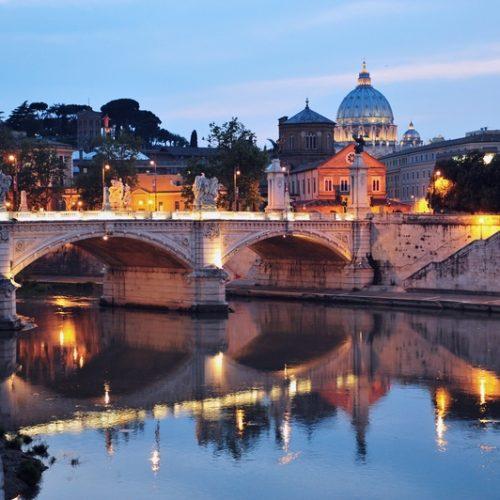 Цікаві факти про річку Тибр в Римі