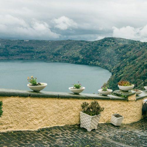 Гарні озера поруч із Римом