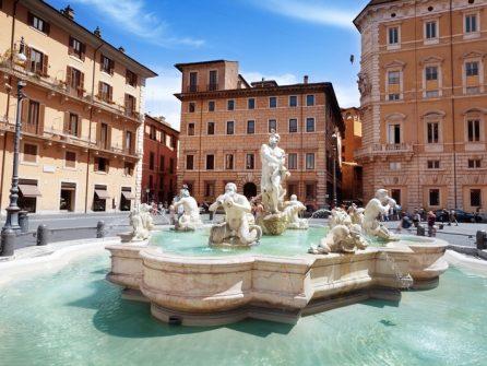 Цікаві факти про площу Навона в Римі